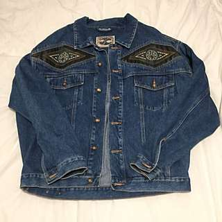 Vintage Denim Western Jacket