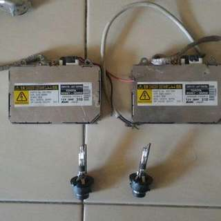 Hid Ballast Original Denso (JAPAN) with Philips D2r Bulb