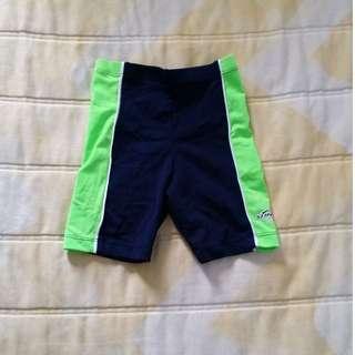 BN Stingray Kids Swimming Tights (Navy/Green)