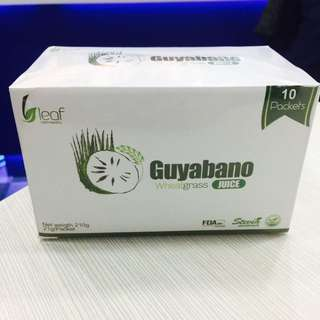 Guyabano Wheatgrass Juice (21g X 10 Packets)