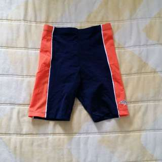 BN Stingray Kids Swimming Tights (Navy/Orange)