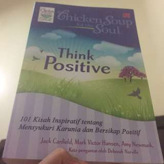 """Chicken Soup """"Think Positive"""""""