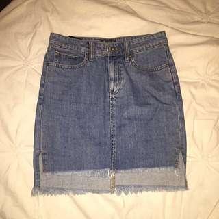 Bardot Denim Skirt Size 8