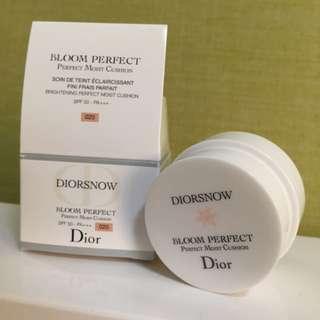 Dior雪精靈光感氣墊粉餅
