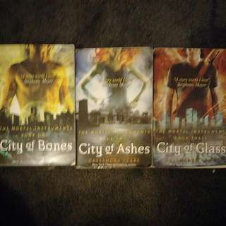 Mortal Instruments (city Of Bones,  Ashes And Glass)