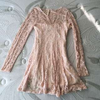 Korean Style Lacey Dress