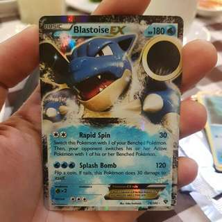 Blastoise Ex from XY Base set