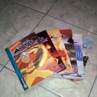 Comic Avatar The Legend of Aang