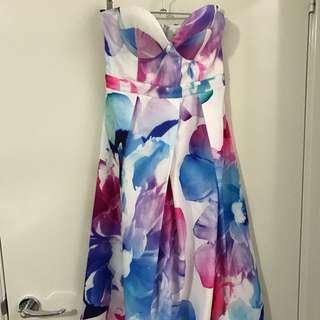 Floral Tube Dress Sz6