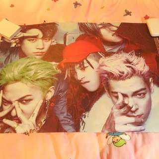 MADE THE FULL ALBUM Bigbang Double Sided Poster
