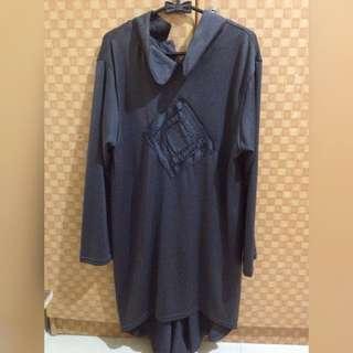 Ootd Hijab Grey