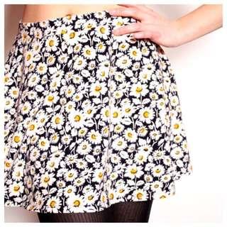 Forever 21 Floral Print Skirt
