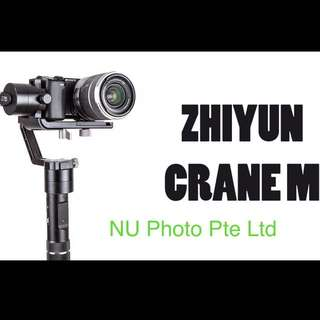 Zhiyun Crane M 3-Axis Gimbal For Mirrorless Camera