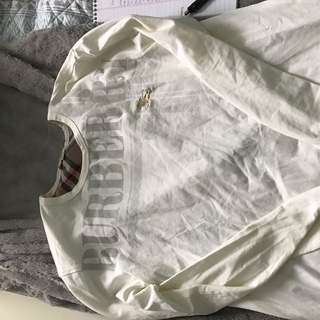 Mens Large Burberry Long Sleeve