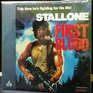 Rambo Laser Disc