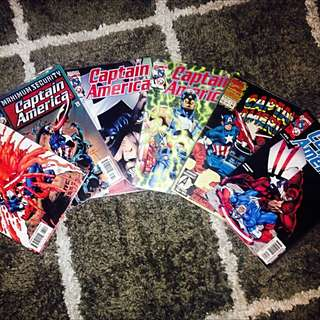 Captain America #34, 35, 36, 38, 41, Special Edition