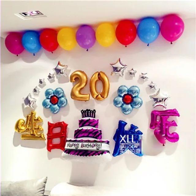 30歲 派對佈置