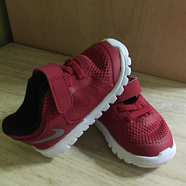 2 Nike baby shoes size 4C, Babies