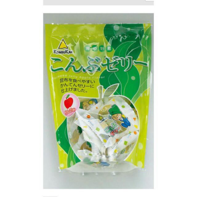 (立即現貨)北海道限定昆布果凍-蘋果口味