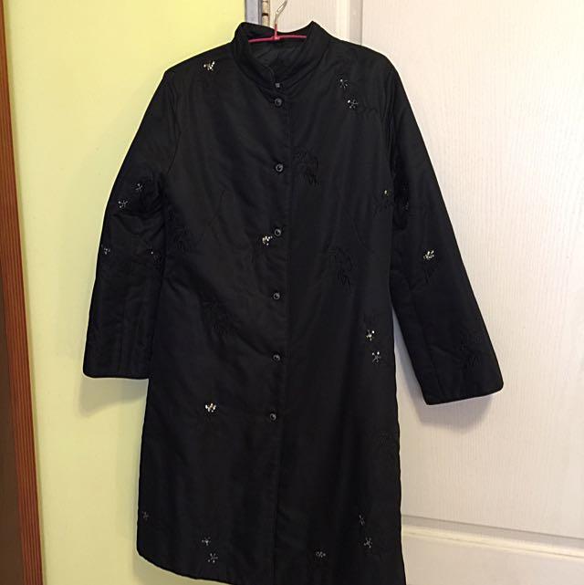 輕鋪棉中國風外套