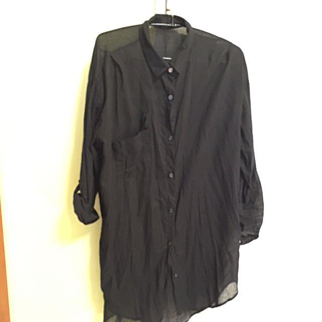薄罩衫(長襯衫)