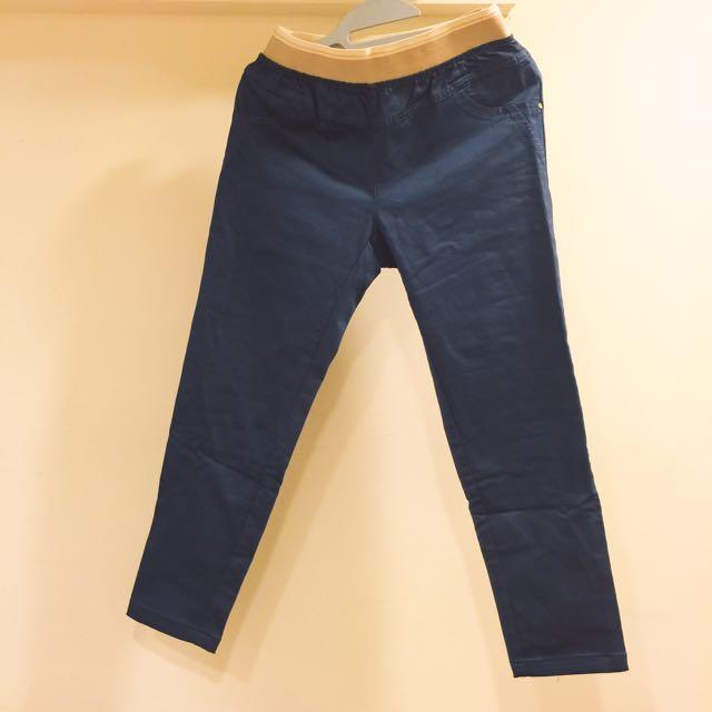 正韓時尚彈性九分褲