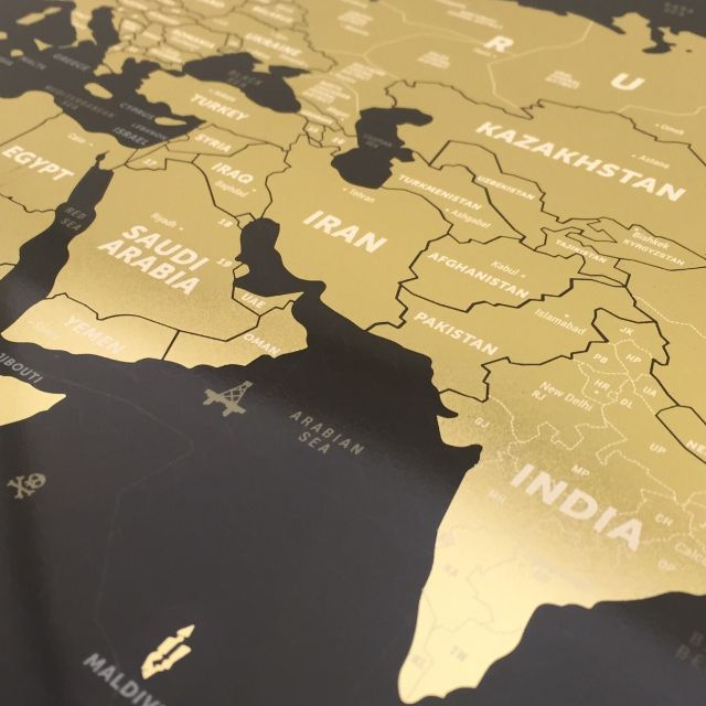 world scratch map black x gold world scratch map black x gold carousell gumiabroncs Image collections