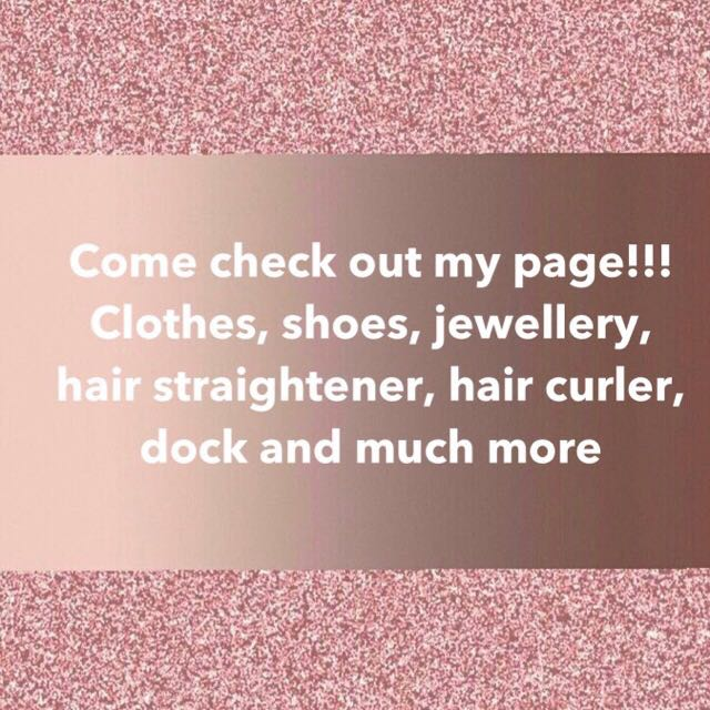 💥 COME CHECK OUT MY PAGE 💥