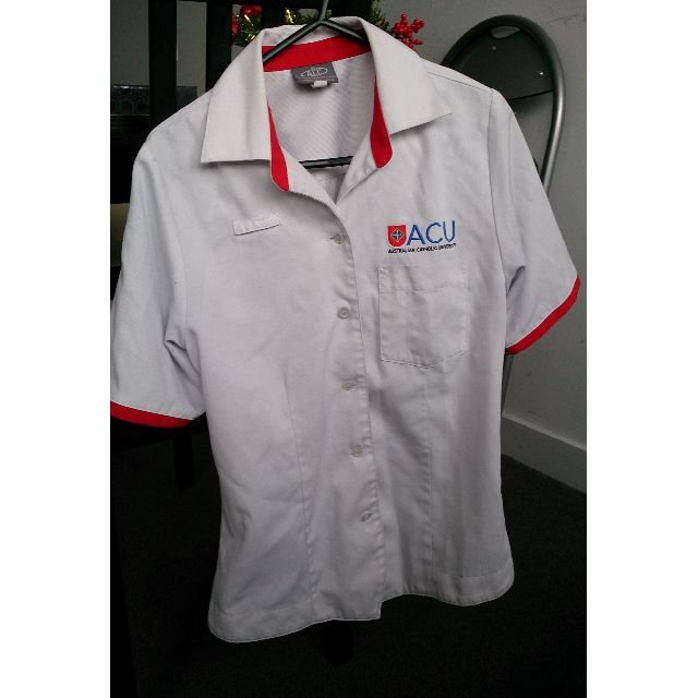 ACU Nursing uniform size 8