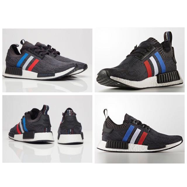Adidas NMD Tri Color (Black)