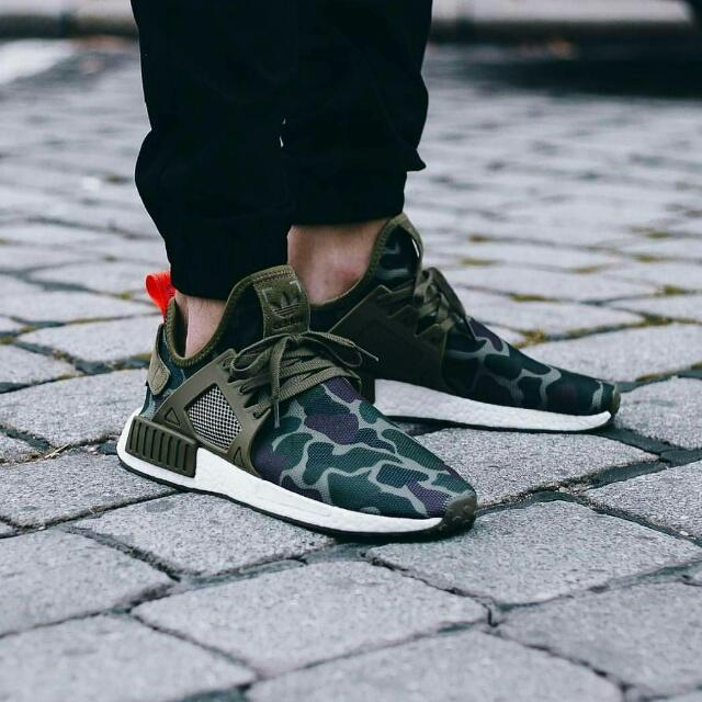 official photos 16f20 9e3b5 Adidas NMD XR1 Duck Camo Olive Green