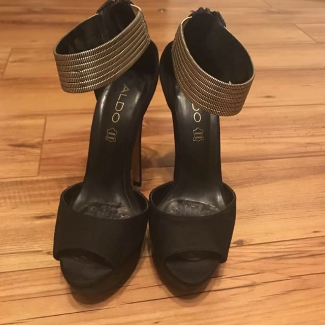 Aldo High Heels Worn Once To A Wedding