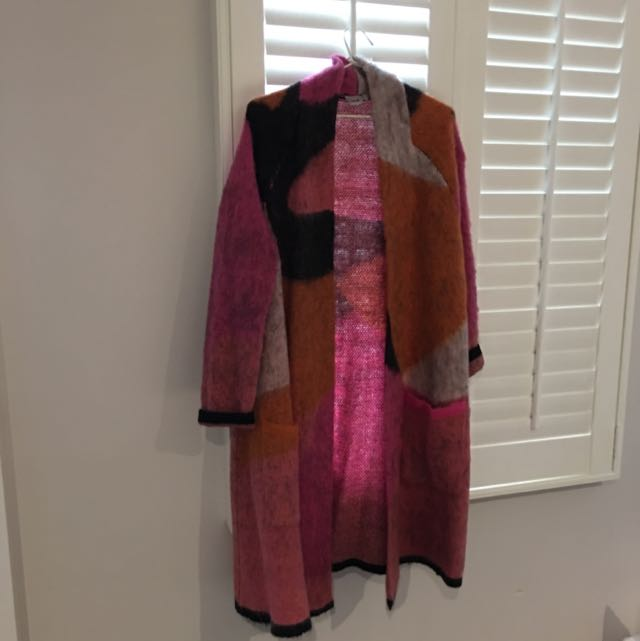 Asos Long Knit Jacket