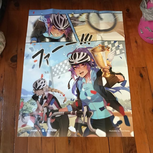 Assorted Loot Anime Posters x4
