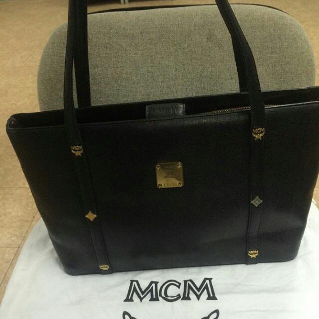 Authentic MCM Tote