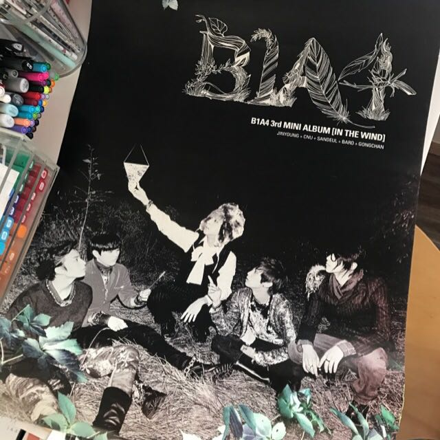B1A4 Poster Unfolded