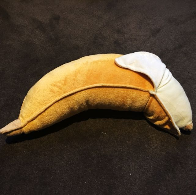 Banana soft toy