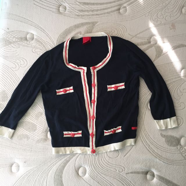 Bayo Nautical Cardigan