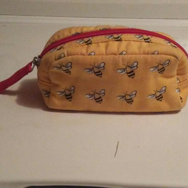 Bee Makeup Bag