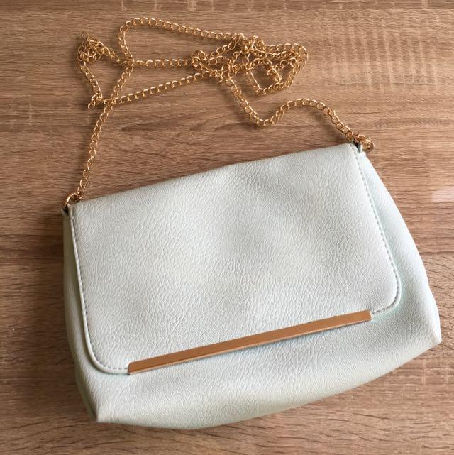 BERSHKA Tosca Mint Mini Bag