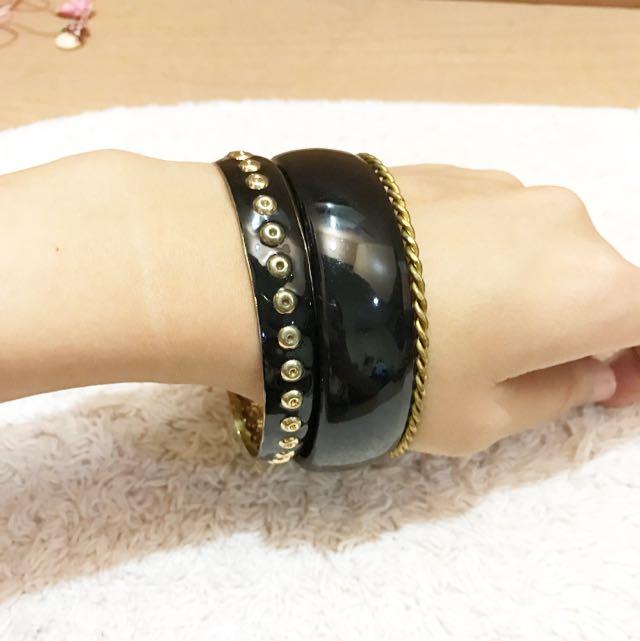 Black Set Bracelet