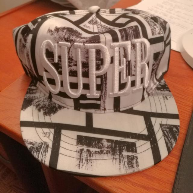 Black And White Snapback