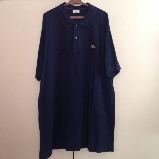 Dark Blue Lacoste Polo