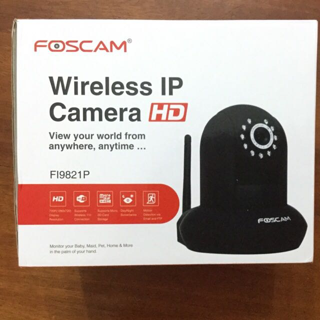 BN Foscam Fi9821p Wireless IP Camera