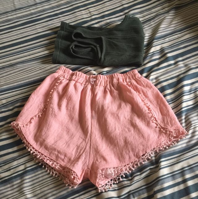 Bohemian Shorts Inspired