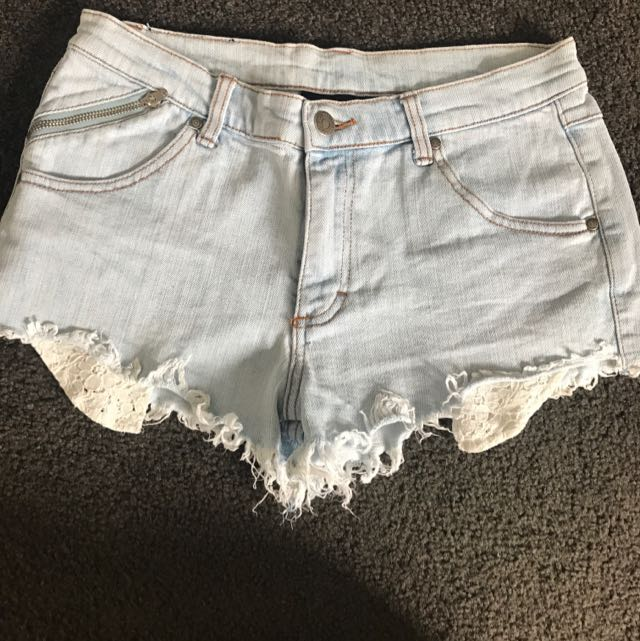 C Denim Shorts