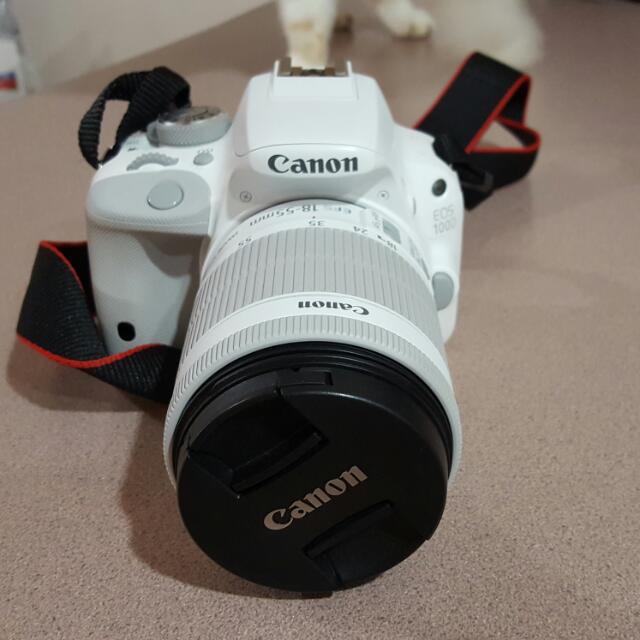 近全新!Canon EOS 100d聖誕特別版