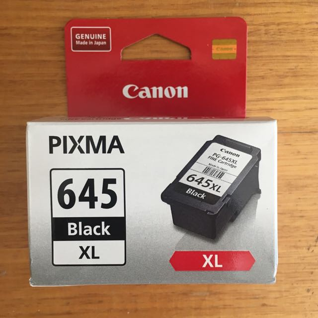 Canon Pixma 645 XL Black Ink Cartridge PG-645XL For Printer Model MG2460 MG2560 MG2960 MG2965 MX496
