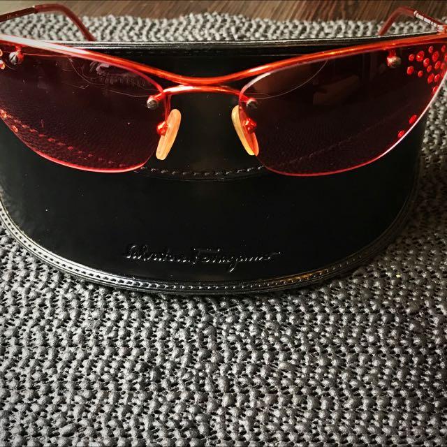 CD正品太陽眼鏡紅色