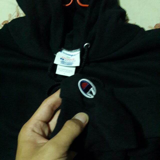 Champhion DOUBLE DRY HOODIE (READY STOCK)